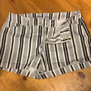 Old Navy Shorts - Striped old navy pixi shorts